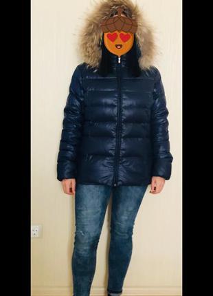 Куртка пуховик/ натуральный пух