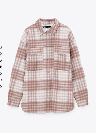 Рубашка зара / куртка / ветровка zara