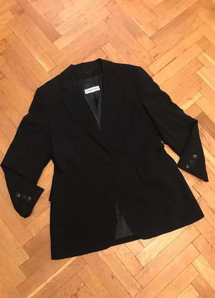 Удлиненный пиджак, блейзер,коттоновый,cerruti