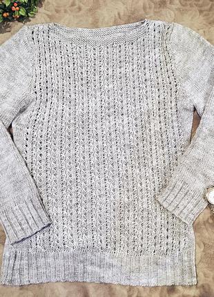 Теплый свитерок акрил+шерсть