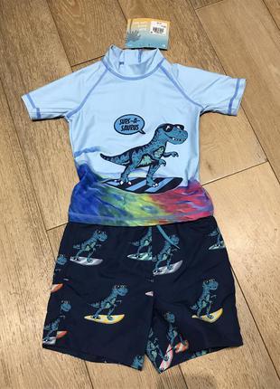 Солнцезащитный пляжный костюм 2-3 года