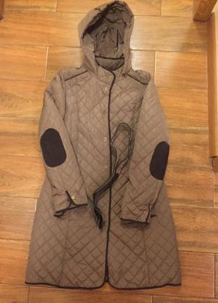 Стёганное пальто на весну-осень ostin