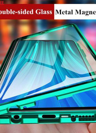 Magnetic case full glass 360 (магнитный чехол) xiaomi redmi note 8t
