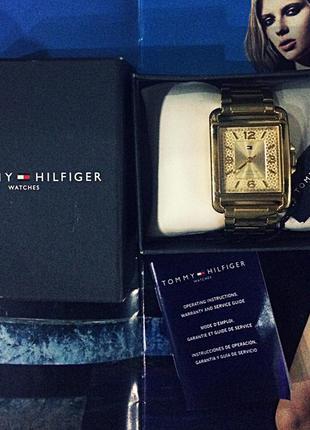 Оригинальные кварцевые часы tommy hilfiger