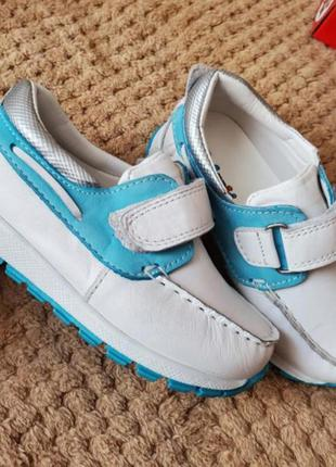Шкіряні кросівки,  мокасини