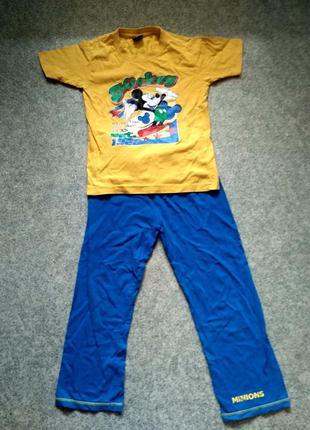 Пижама хлопок микки маус george