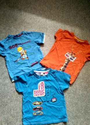 Комплект фирменных футболок 3-4 года