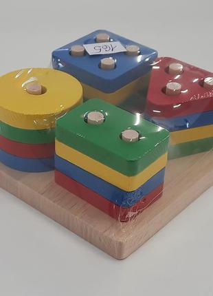 Развивающая игра для детей геометрия
