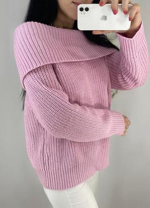 Свитера по 120 - 220 гривен на странице!шикарный свитер на плечи цвет жвачка розовый