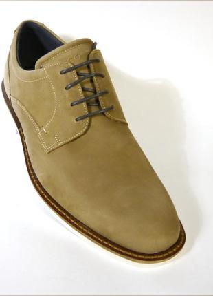 Ecco biarritz мужские туфли оксфорды оригинал