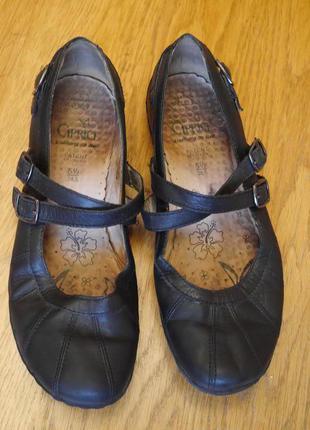 Туфлі шкіряні розмір 38,5 стелька 25,5 см caprice