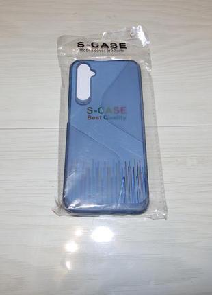 Чехол totu clear wave for realme 6 синий