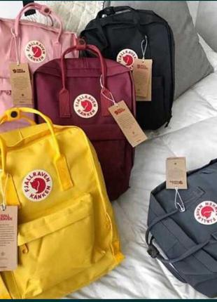 Портфель сумка унисекс рюкзак ранец fjallraven kanken класика