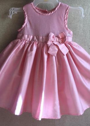 Платье для девочки на годик