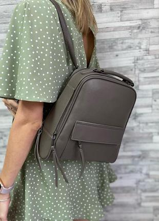 Рюкзак цвета хаки karlos marconi