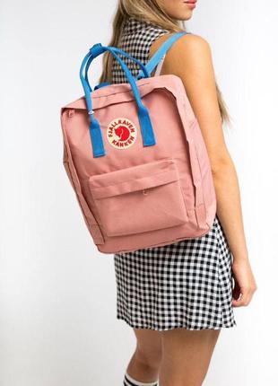 Рюкзак fjallraven kanken 16 l портфель фьялравен канкен розовый наложенный платеж купить