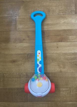 Каталка для малышей поп-корн fisher price