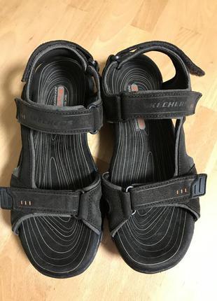 Босоножки сандали кожаные skechers 42 p teva nike