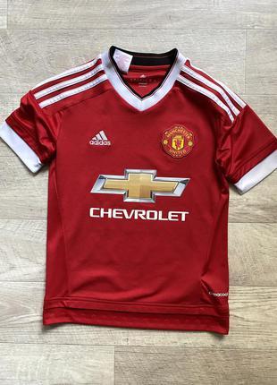 Adidas manchester united футболка оригинал детская