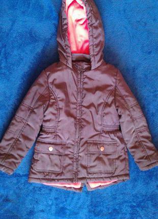 Зимняя куртка для девочек f&f
