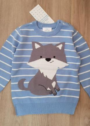 Джемпер, свитшот, свитер 9-12 мес. 80р.
