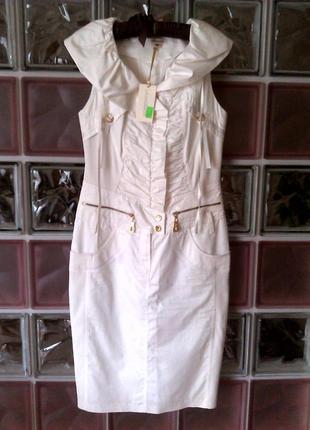 Белое платье lasagrada нарядное