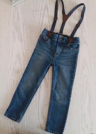 Oshkosh carters джинси с подтяжками штаны в идеале