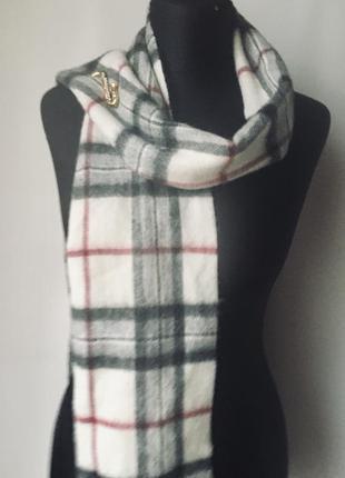 Стильный шотландский шерстяной шарф