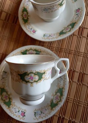 Чайная двойка.(кофейная)