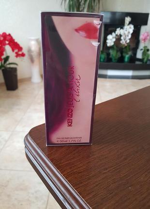 Парфюмированная вода kenzo jeu d'amour l'elixir