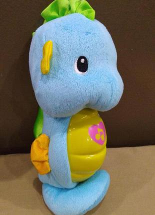 Ночник игрушка морской конек fisher price мальчик