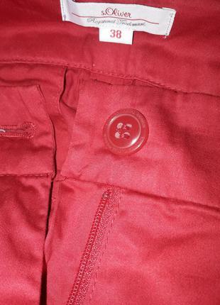 Штаны бриджи красные