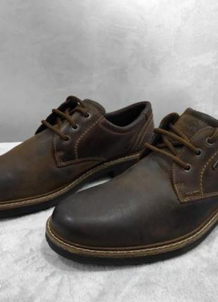 Якісні туфлі з натуральної шкіри gallus 46p.