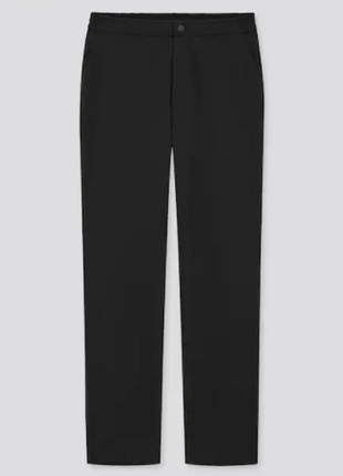 Женские теплые штаны брюки флисовая подкладка флис women heattech warm lined trousers uniqlo юникло