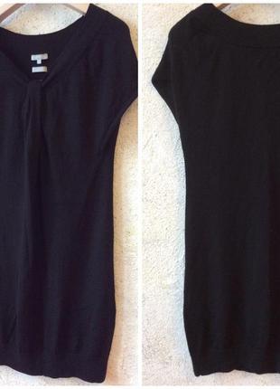 Мериносовая шерсть туника платье