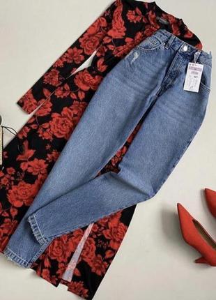 Новые обалденные джинсы мом с высокой посадкой sinsay