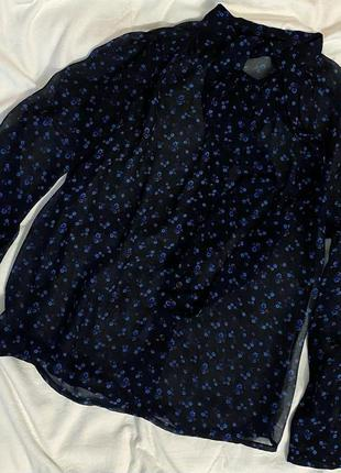 Блуза синяя colin's