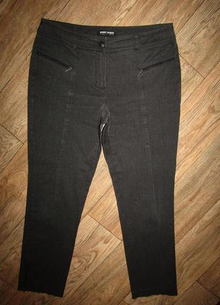 Укороченные брюки джинсы р-р л-14 gerry weber