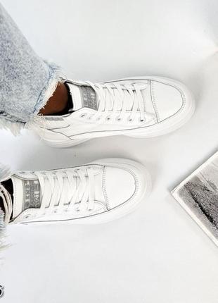 Демисезонные кроссовки женские, высокие кроссовки, белые кроссовки женские, ботинки деми