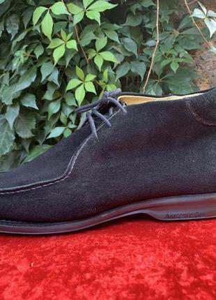 Замшевые туфли amazonas 45 р