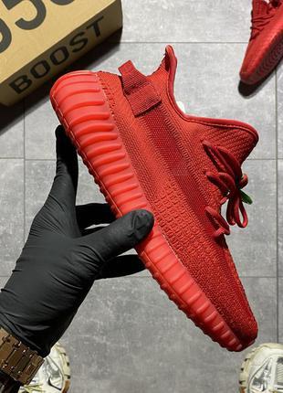 Кроссовки adidas yeezy boost 350 red