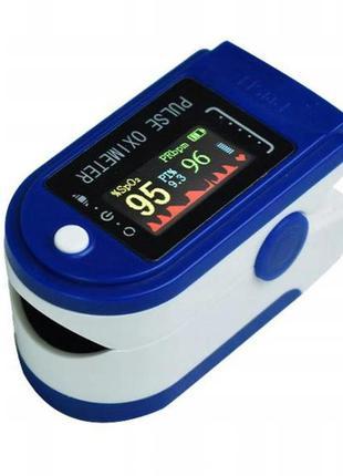 Пульсоксиметр трехцветный польша реальные фото пульсометр датчик кислорода