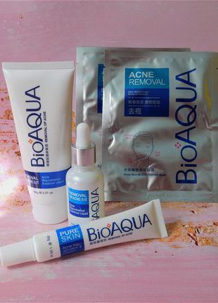 Набор для проблемной кожи bioaqua pure skin