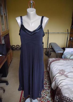 Плаття чорне  відкрите розмір m-l mexx