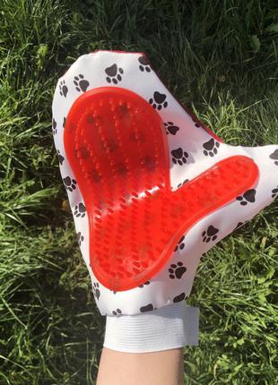 Перчатка для высасывания шерсти
