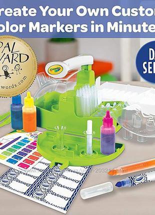 Изготовление маркеров набор для творчества marker maker crayola