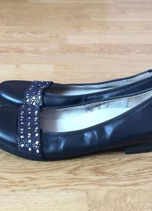 Кожаные туфли waldlaufer 41 размера в идеальном состоянии