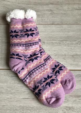 Носки флисовые