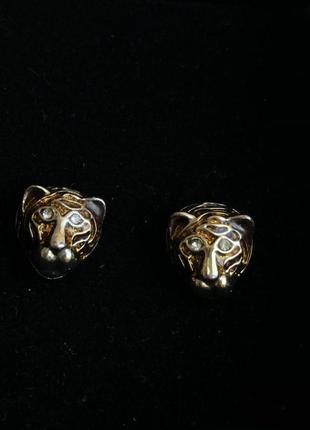 Серёжки тигрицы avon