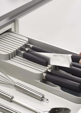 Кухонный органайзер для ножей drawerstore, лоток для ножей, подставка для ножей